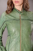 Куртка кожаная на молнии_1
