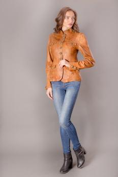 Куртка из вываренной кожи