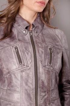 Куртка кожаная молодежная