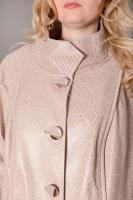 Куртка кожаная удлиненная_1