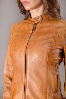 Куртка Tom Collins кожаная