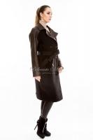 Двубортное пальто с поясом_1